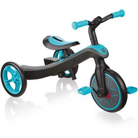 Globber Explrr Trike 2in1 Dzieci, czarny/turkusowy